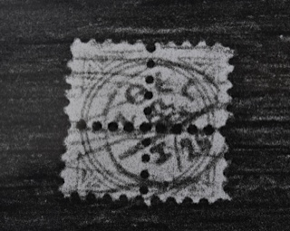 Stamp on the back of the unidentified painting